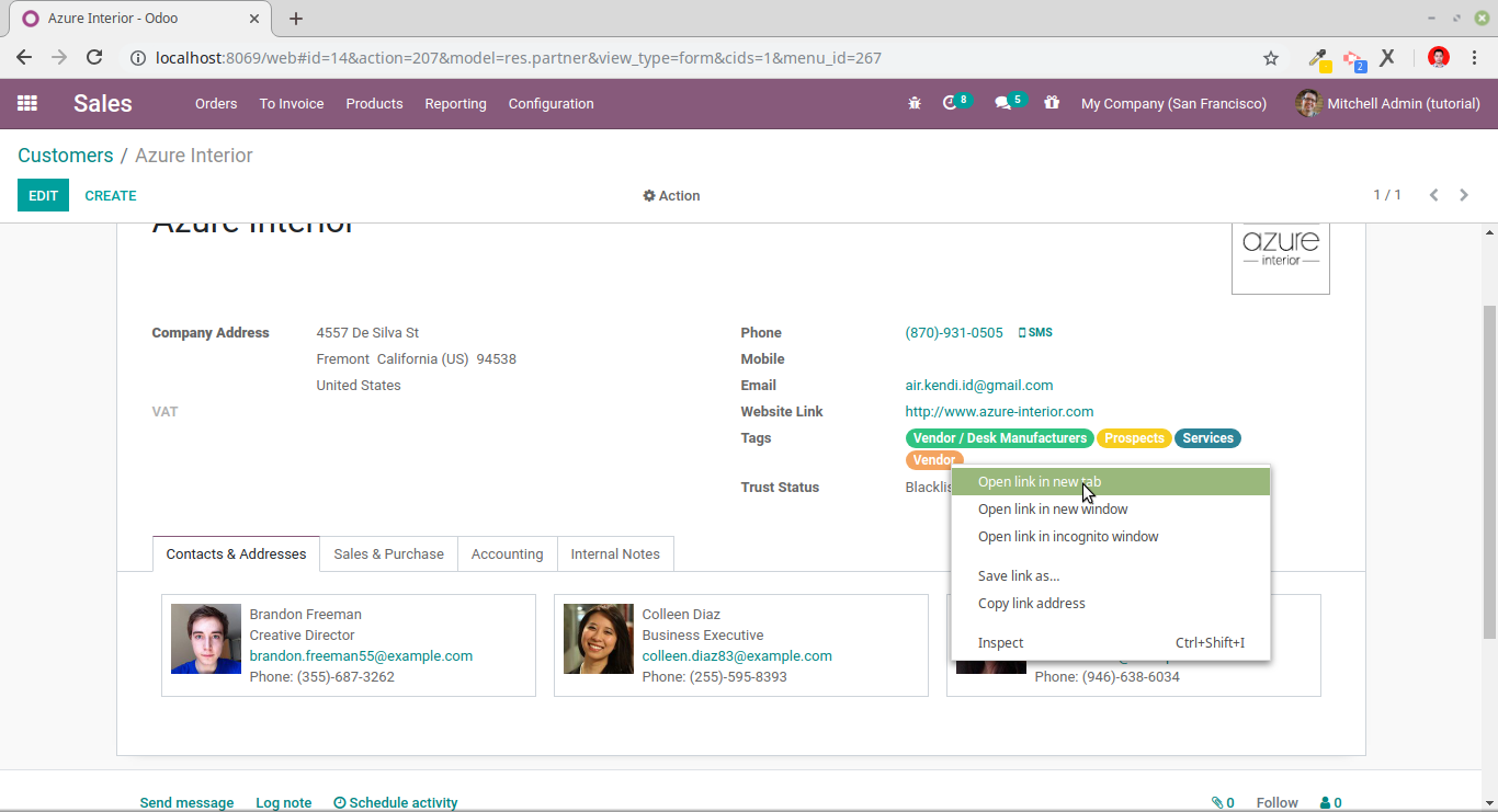 Open odoo many2many field in new browser tab